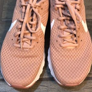 Nike, rose colored. Size 7